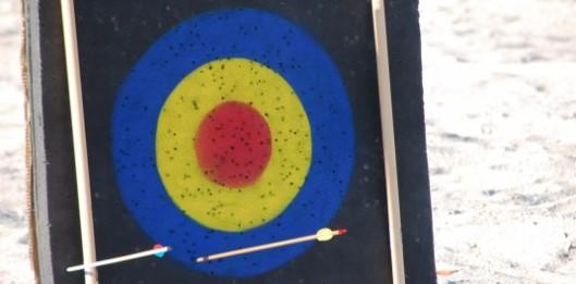 Arrow misses target