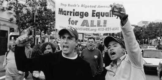 Same-Sex Marriage protest