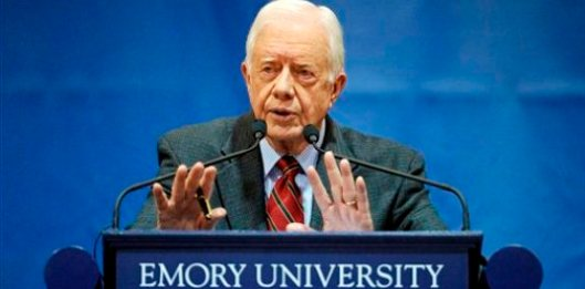 President Jimmy Carter at Emory University