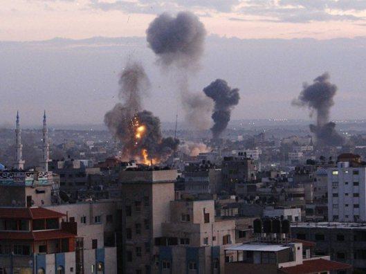Gaza air strikes