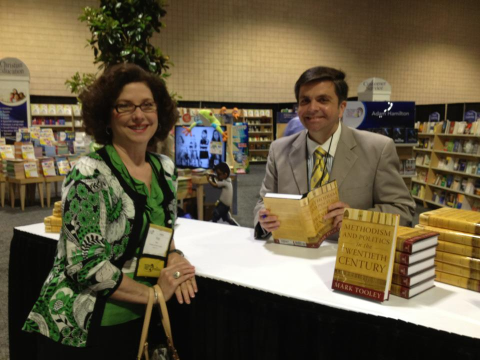 Mark Tooley and Katy Kiser