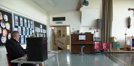 Voter polling station