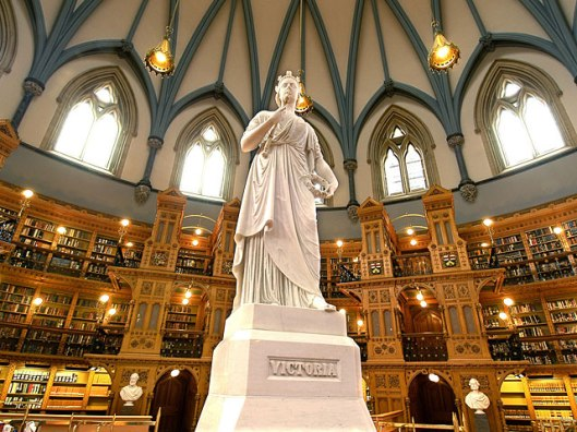 Canadian Library of Parliament (Photo Credit: CBC.ca)