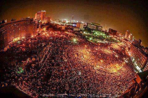 Demonstration against Islamism and Muslim Brotherhood in Cairo, Egypt