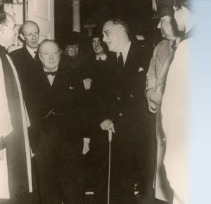 FDR & Churchill at Christ Church