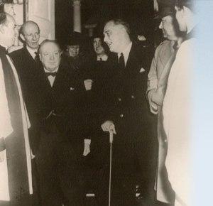 FDR & Churchill at Christ Church