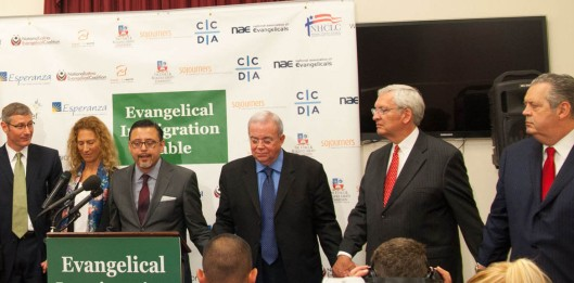 Jim Wallis at Evangelical Immigration Table