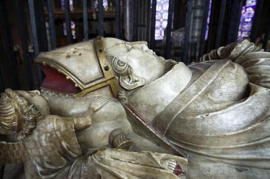 Effigy of St. Thomas of Canterbury (Photo Credit: The Times)