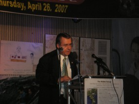 U.S. Rep. Ed Royce (R-CA) Chairman-Elect of the House Committee on Foreign Affairs, speaking at a 2007 conference on oppression and persecution in North Korea.