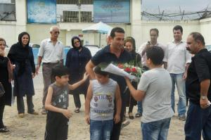 The happy day in September when Youcef Nadarkhani was released from prison.