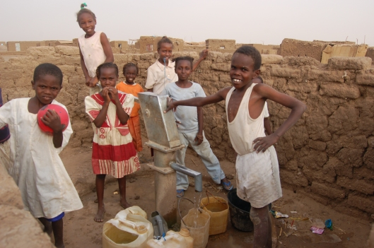 Sudan children Nuba Mountains