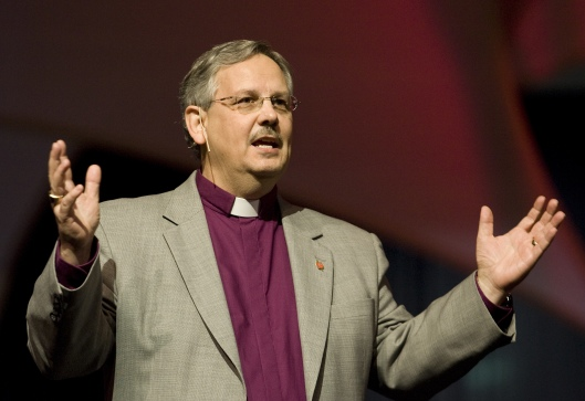 Bishop Bruce Ough (Photo credit: Mike Dubose, United Methodist News Service)