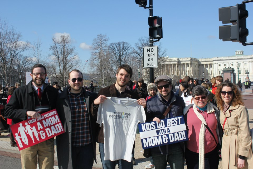 A Millennial's March For Marriage 2