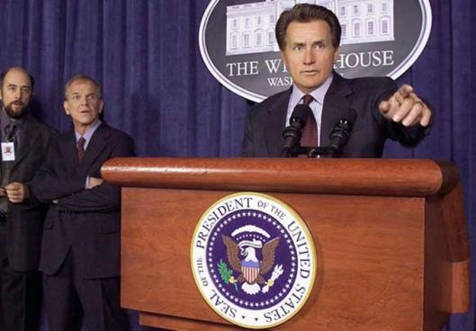 Martin Sheen in West Wing