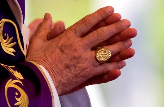 Prayer for the Pope Benedict XVI Fisherman