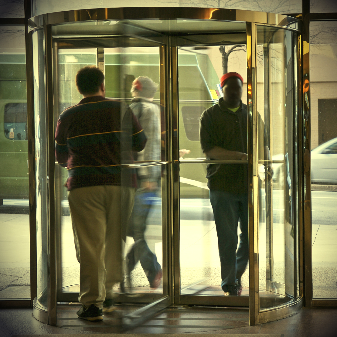 The door of many if not most churches seems to be a revolving door; constantly moving with people disillusioned with spirituality. & Incapacitated Christianity \u2013 The Revolving Door | For God\u0027s Glory ... Pezcame.Com