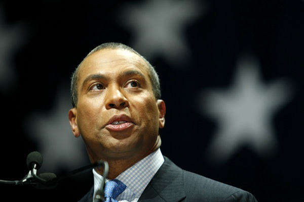 Deval Patrick is the Governor of Massachusetts. (Photo credit: Mediaite)