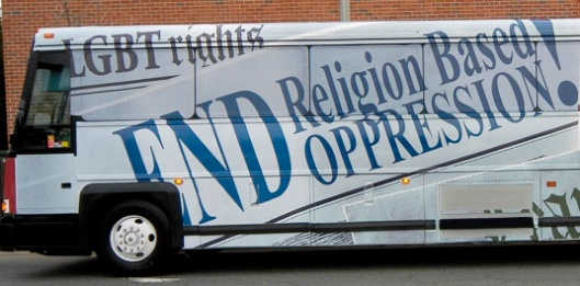 (Soulforce's 2006 Equality Ride bus. Source: Equality Ride)