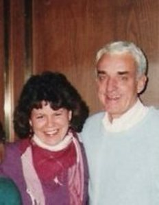 Faith McDonnell with Brennan Manning in Washington, DC, in the early '80's. (Photo credit: Faith McDonnell)