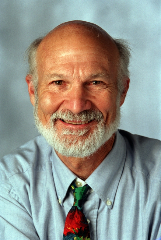 Dr. Stanley Hauerwas, Gilbert T. Rowe Professor of Theological Ethics at Duke Divinity School.  (Photo Credit: Mennonite Mission Network)