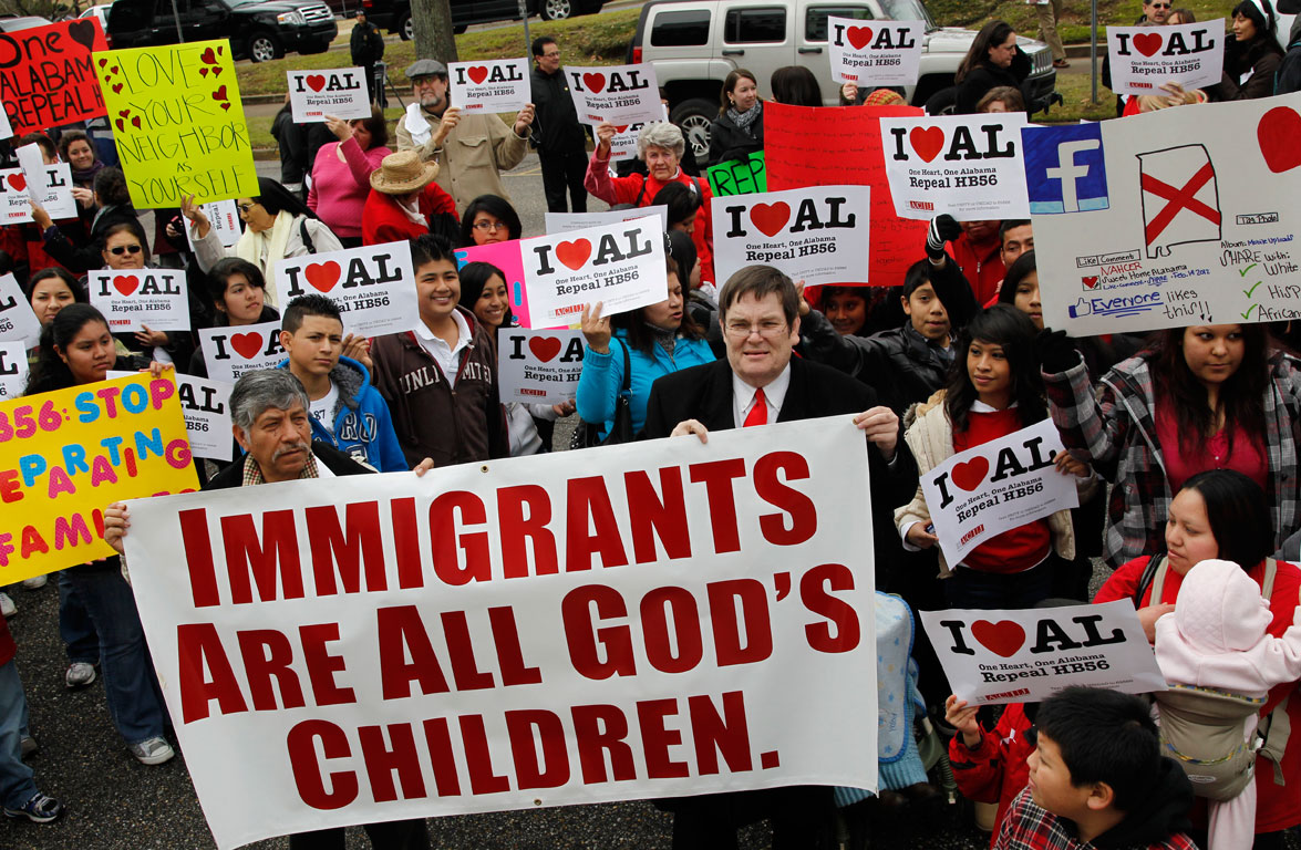 evangelical elites� immigration agenda juicy ecumenism