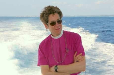 Episcopal Church Presiding Bishop Katharine Jefferts Schori spoke recently at a Washington National Cathedral service themed around Earth Day. (Photo: The Living Church)