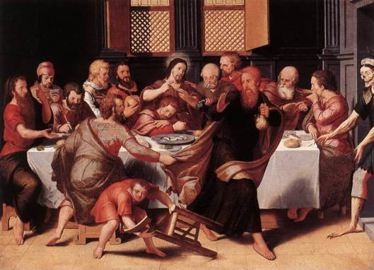 The Last Supper by Peter Pourbus (Photo Credit: http://www.wga.hu)