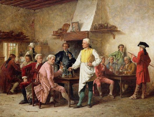 A Gentleman's Debate by Benjamin Eugene Fichel (Photo Credit: Fine Art America)
