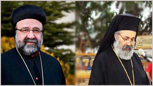 Abducted Syrian Church Leaders: His Grace Yohanna Ibrahim, the Syrian-Orthodox Metropolitan of Aleppo and His Excellency Boulos al-Yazigi, the Greek Orthodox Archbishop of Aleppo and Iskandaroun. (Photo credit: orthodoxherald.com)