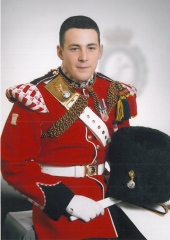 Drummer Lee Rigby, durvived the Taliban in Afghanistan, slaughtered by jihadists in London. (Photo credit: MOD)