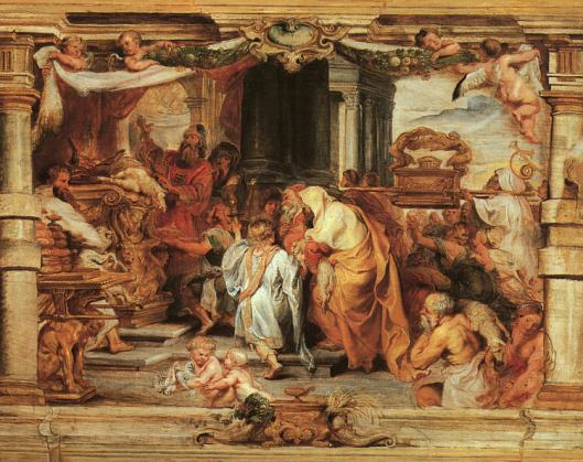 Sacrifice of the Old Covenant by Peter Paul Rubens (Photo Credit: Wikipedia)