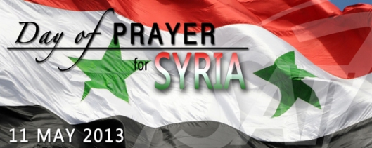 Pray for Syria (Photo credit: Sat-7)