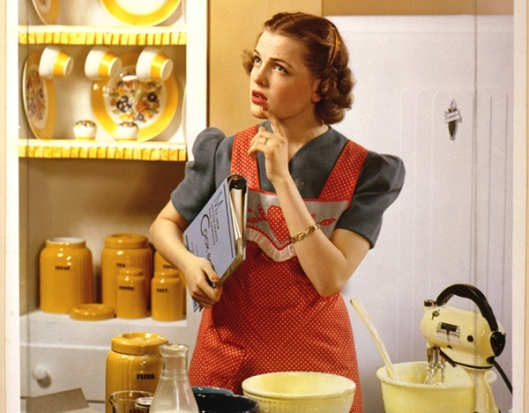 (Homemaking is important, but it shouldn't define women. (Credit: Amerika.org)