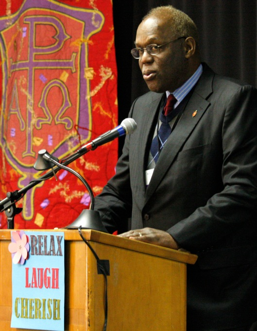 Bishop Warner Brown of the United Methodist Church (Photo credit: Ronny Perry / United Methodist News Service)