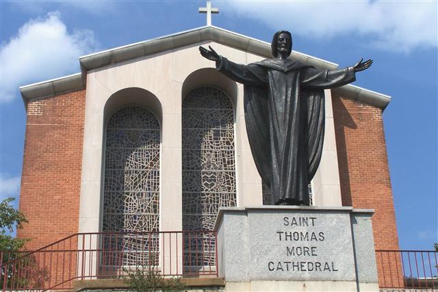 St. Thomas More Cathedral, Arlington, Virginia (Photo Credit: Fairfax Choral Society)