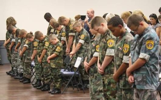 Fifteen cadets graduated from the Bossier sheriff's office Young Marines program on Saturday. (Photo Credit: Kristi Johnston/The Shreveport Times)